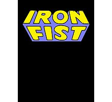 Iron Fist - Classic Title - Clean Photographic Print