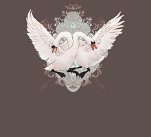 Warring Swans Mens V-Neck T-Shirt