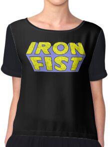 Iron Fist - Classic Title - Dirty Chiffon Top
