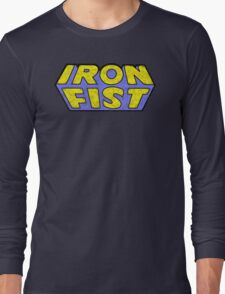 Iron Fist - Classic Title - Dirty T-Shirt