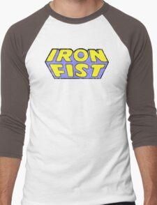 Iron Fist - Classic Title - Dirty Men's Baseball ¾ T-Shirt