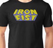 Iron Fist - Classic Title - Dirty Unisex T-Shirt