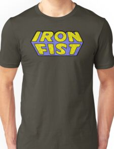 Iron Fist - Classic Title - Dirty Unisex T-Shirt