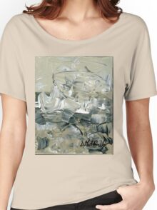 ABSTRACT 2 - Original acrylic painting on Canvas Women's Relaxed Fit T-Shirt