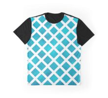 Blue Fence Graphic T-Shirt