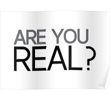 impact: are you real? Poster