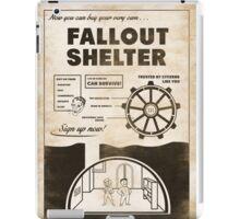 Shelter Propaganda Poster iPad Case/Skin