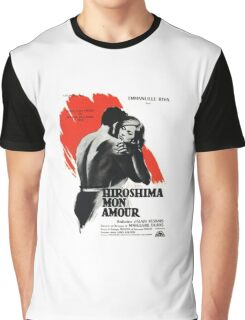 Hiroshima Mon Amour - French New Wave Classic Graphic T-Shirt