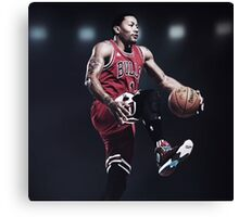 Fast Break Dunk Canvas Print