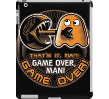 Game Over, Man! iPad Case/Skin