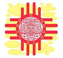A Native Sun Photographic Print