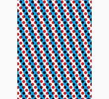 Dot & Lines 01 (Red & Blue) Unisex T-Shirt