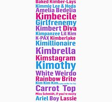 All of Titus' Nicknames for Kimmy Schmidt Women's Fitted Scoop T-Shirt