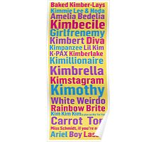 All of Titus' Nicknames for Kimmy Schmidt Poster