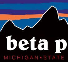 pi phi msu mountain Sticker