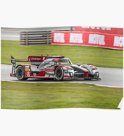 Audi Sport Team Joest No 8 Poster
