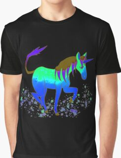 Saturated Unicorn Ver. 1 Graphic T-Shirt
