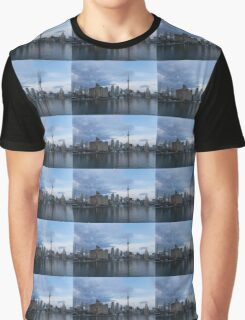 TO Harbour - Toronto's Skyline From The Island Airport Graphic T-Shirt