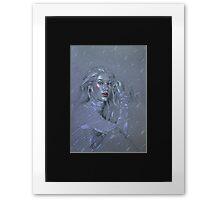 London Cheeks Framed Print