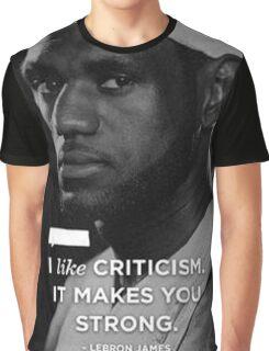 Lebron James Quotes Graphic T-Shirt