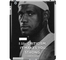 Lebron James Quotes iPad Case/Skin