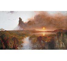 Vintage famous art - Frederic Edwin Church - American Landscape Photographic Print