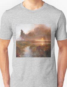 Vintage famous art - Frederic Edwin Church - American Landscape Unisex T-Shirt