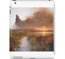 Vintage famous art - Frederic Edwin Church - Cotopaxi iPad Case/Skin
