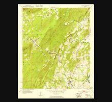 USGS TOPO Map Alabama AL Vincent 305302 1951 24000 Unisex T-Shirt