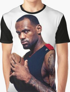 Cool Tattoo Design Of Lebron Graphic T-Shirt