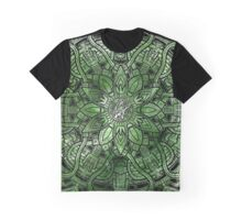 MANDALA GREEN JUNGLE Graphic T-Shirt
