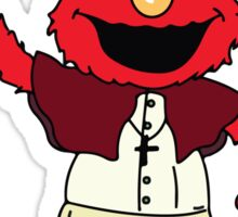 Pope Elmo Sticker