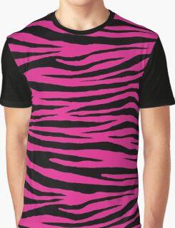 0152 Barbie Pink Tiger Graphic T-Shirt