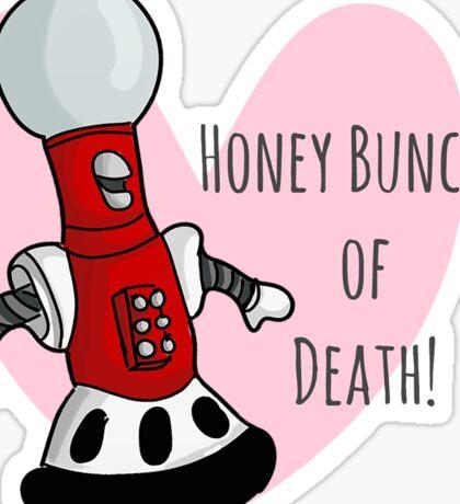 Honey Bunches of Death Sticker
