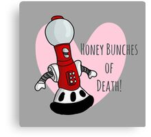 Honey Bunches of Death Canvas Print
