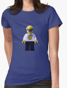 Meh old timer! Womens Fitted T-Shirt