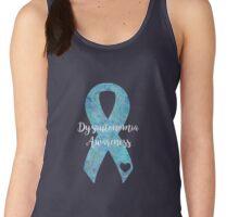 Dysautonomia Mandala Ribbon Women's Tank Top