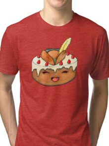 Captain Clarice the Cake - The Pastry Platoon Tri-blend T-Shirt