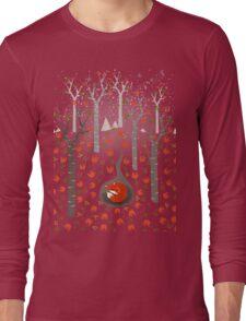 Sleeping Fox Long Sleeve T-Shirt