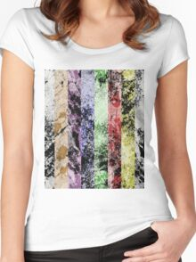 Marble Fence Women's Fitted Scoop T-Shirt