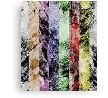 Marble Fence Canvas Print