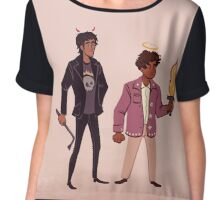 Good Omens Chiffon Top