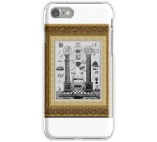 Masonic Pillars iPhone Case/Skin