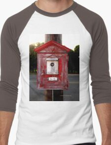 Fire Alarm pull box 3233 Men's Baseball ¾ T-Shirt