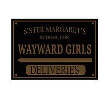 Deadpool Sister Margaret's Photographic Print