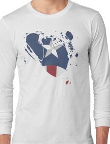 Ripped Star Spangled  Long Sleeve T-Shirt