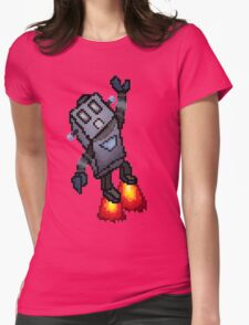 Robo-Buddy Womens Fitted T-Shirt