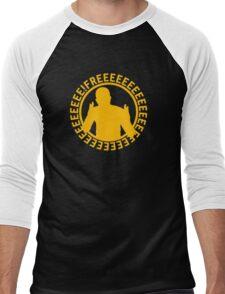 Apex FREEEEEEEEEEEE | Yellow on Black | High Quality! Men's Baseball ¾ T-Shirt