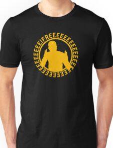 Apex FREEEEEEEEEEEE   Yellow on Black   High Quality! Unisex T-Shirt