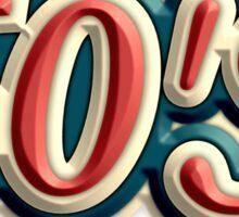Old 60's Sticker